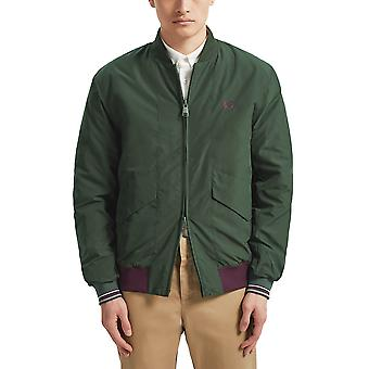 Fred Perry Men's Bomber Jacket Quilted