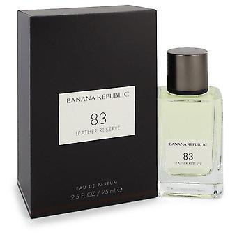 Banana republick 83 nahkavaraus eau de parfum spray (unisex) banaanitasavallalla 550991 75 ml