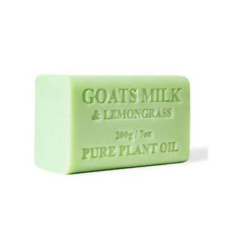 2X 200G Goats Milk Soap Lemongrass Goat Bar Skin Care