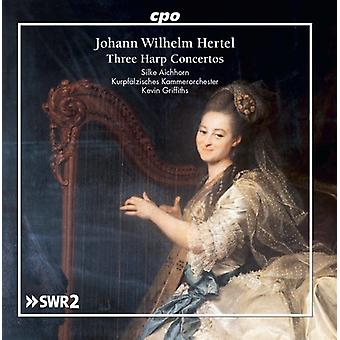 Hertel / Aichhorn / Griffiths - Harp Concertos [CD] USA import
