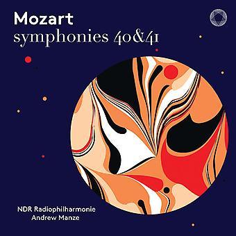 Symphonies 40 & 41 [SACD] USA import
