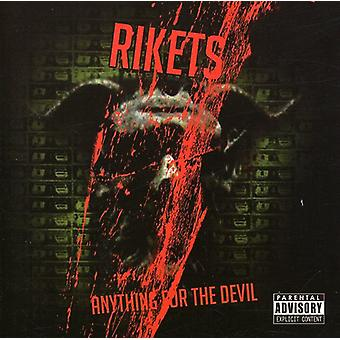 Rikets - Anything for the Devil EP [CD] USA import