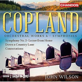 Copland / BBC Philharmonic - Orchestral Works 4 [SACD] USA import