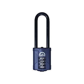 Henry Squire CP40 Combination Padlock 4 Wheel 63mm Long Shackle