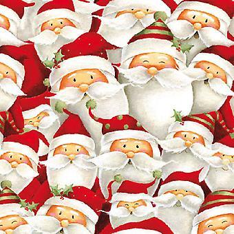 Serviettes de table Ambiente Funny Santa