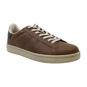 تومي هيلفيغر الرجال & ق أحذية Lutwin منخفضة أعلى الدانتيل حتى أحذية رياضية الموضة