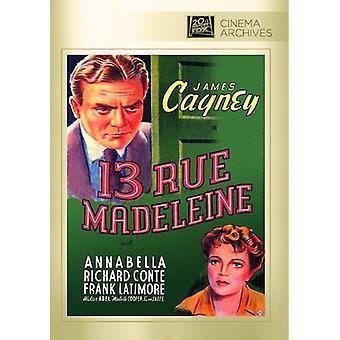 13 rue Madeleine [DVD] USA import