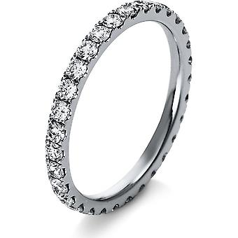 Diamond Ring Ring - 18K 750/- White Gold - 0.92 ct. - 1R907W854-4 - Ring width: 54