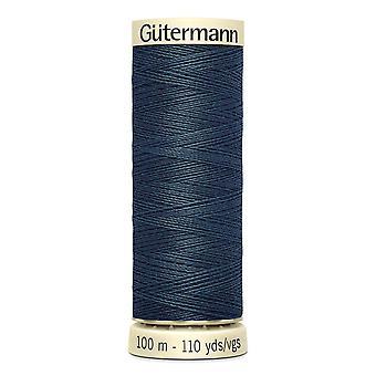 Gutermann Nähen alle 100 % Polyester-Gewinde 100m Hand- und Maschinenfarbcode - 598