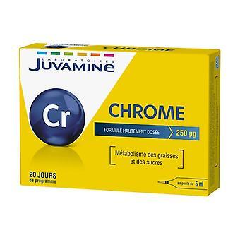 Oligo-Element Chrome 20 ampoules of 5ml
