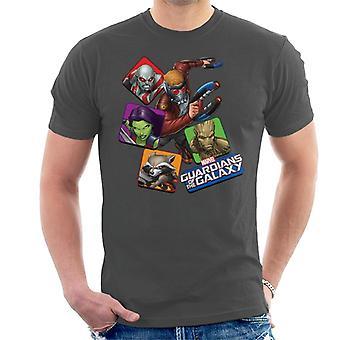 Marvel Wächter der Galaxy Comic-Charaktere Männer's T-Shirt