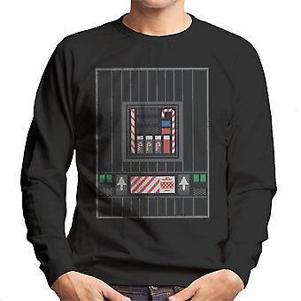 Star Wars Christmas Darth Vader Candy Cane Controls Men-apos;s Sweatshirt Star Wars Christmas Darth Vader Candy Cane Controls Men-apos;s Sweatshirt Star Wars Christmas Darth Vader Candy Cane Controls Men-apos;s Sweatshirt Star Wars
