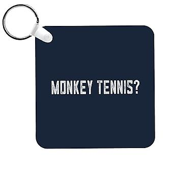 Alan Partridge Monkey Tennis Keyring