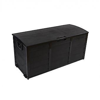 Rebecca Furniture Garden Black Garage 290 Lt Plastic 2 Hjul 52x112x49