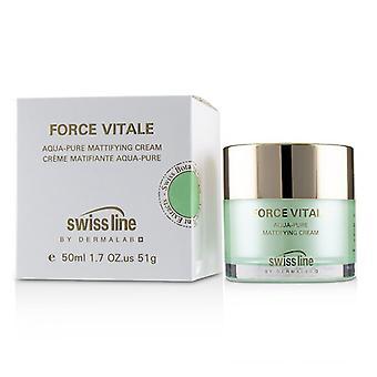 Swissline Force Vitale Aqua-Pure Mattifying Cream 50m/1.7oz