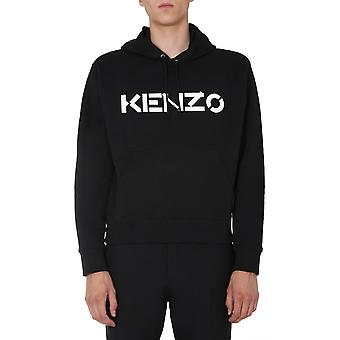 Kenzo Fa65sw3004md99 Men's Black Cotton Sweater