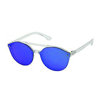 Sunglasses Unisex Cat.3 Blue Lens (19-071)