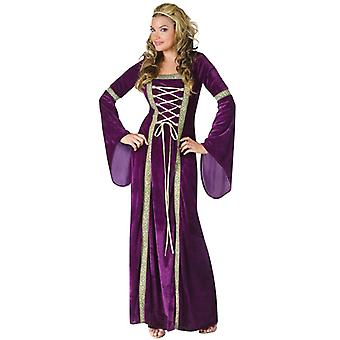Renaissance Lady Maid Marian Medieval Game of Thrones Women Costume