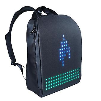 New Light Led Display Smart Wifi Version App Control Diy Outdoor Screen Walking Billboard Backpack Bag
