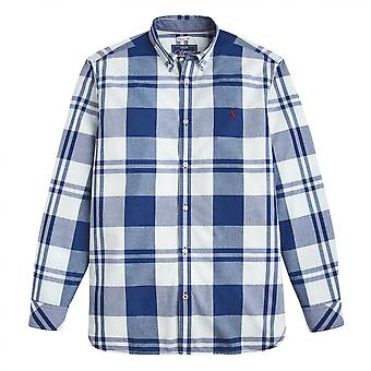 Joules Joules Whittaker lange mouw Classic Fit Shirt (Z)