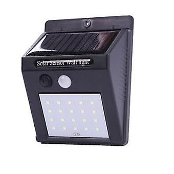 Solar Led Wall Lamp With Waterproof , Motion Sensor For Outdoor Garden,