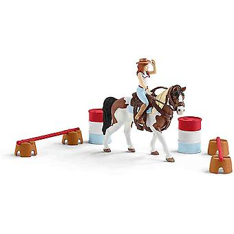 Schleich horse club Hannah's western riding play set for children over 3 years