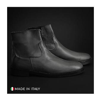 Guido Bassi - shoes - ankle boots - 3741_CRUST_GRIGIO - men - dimgray - EU 41