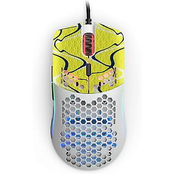 REYTID Durasoft Polymer Gaming Mouse Skin Grip Sticker Tape - PRE-CUT - Compatible with Glorious Model O - Minus - Slip-Resistant, WaterProof and Ultra-Comfortable Grips