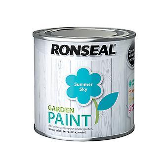 Ronseal Garden Paint Summer Sky 250ml RSLGPSS250