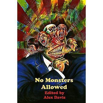 No Monsters Allowed by Alex Davis - 9781907133824 Book