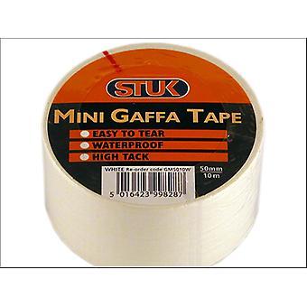 STUK Mini Gaffa Tape White 48mm x 10m GM5010W