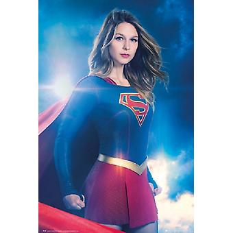 Supergirl - ett ark plakat plakatutskrift