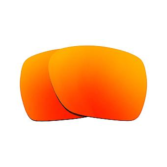 Polarized Replacement Lenses for Oakley Deviation Sunglasses Anti-Scratch Red