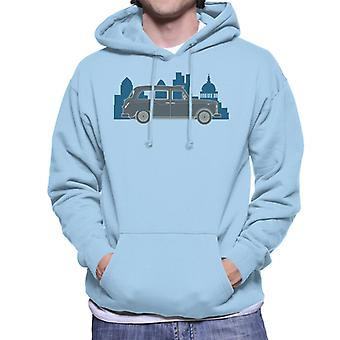 London Taxi Company TX4 Within The City Men's Hooded Sweatshirt
