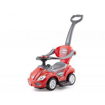 Carrinho multifuncional e carrinho em um - vermelho