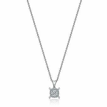 Collier de diamants Solitaire