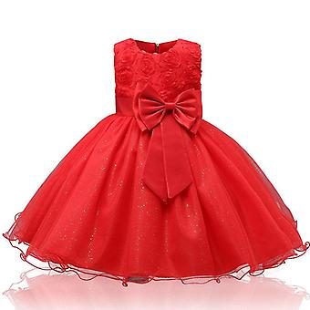 Girls Clothing, Teenagers Dress, Wedding Party Princess Wear