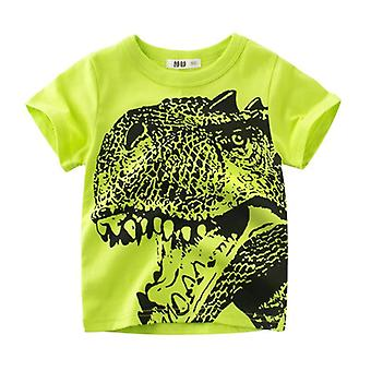 Animal Print Dinosaur T Shirt For, Cartoon Kids Clothes