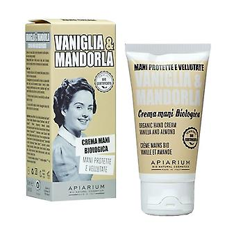 Organic Vanilla and Almond Hand Cream 50 ml of cream