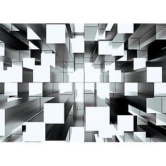 Wall Mural Abstract Mosaic Three-Dimensi