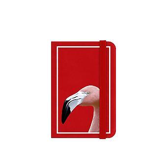 Inquisitive Creatures Flamingo Notebook
