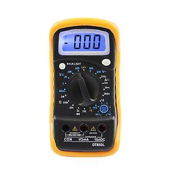 DT830L/850L Digital Multimeter Tester Current Resistance Electric Meter