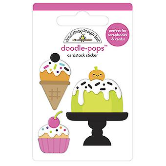 Doodlebug Design Cake & I-Scream Doodle-Pops