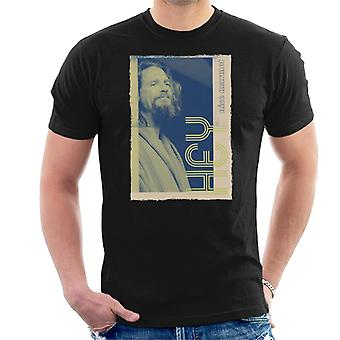 Iso Lebowski The Dude Hey Nice Marmot Nostalgia Men's T-paita
