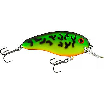 Bomber Deep Flat A 3/8 oz Fishing Lure - Fire Tiger