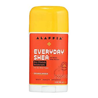 Alaffia EveryDay Shea Dry Finish Deodorant Mandarin Breeze