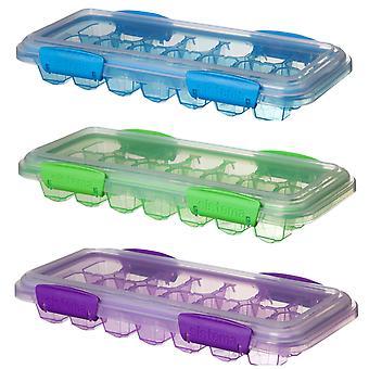 Sistema suuri Klip It Ice Cube Tray, vihreä