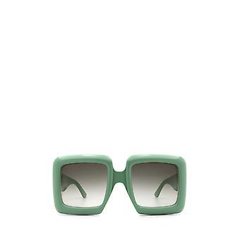 Gucci GG0783S groene vrouwelijke zonnebril