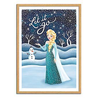 Art-Poster - Frozen - Nour Tohme