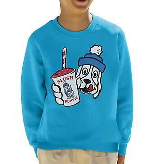 Slush Puppie Retro Cup Logo Kid's Sweatshirt
